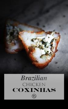 Brazilian chicken coxinhas | Infinite belly