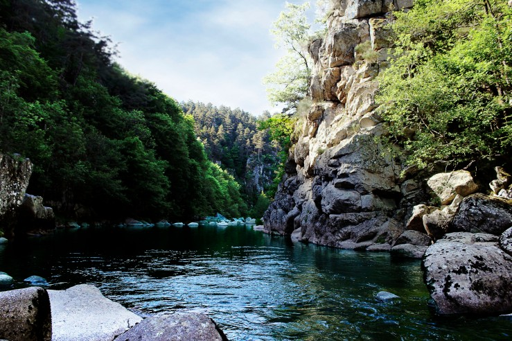The Auvergne Lignon river | Infinite belly
