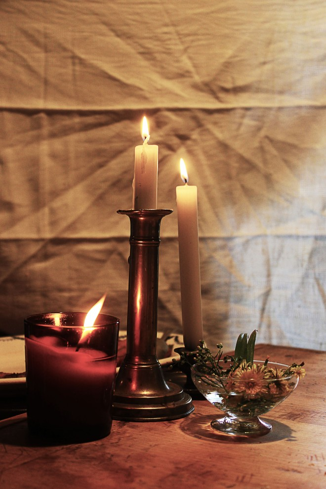 Vintage candle holders | Infinite belly