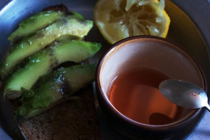 Spicy Tabasco dressing & avocado - Infinite belly