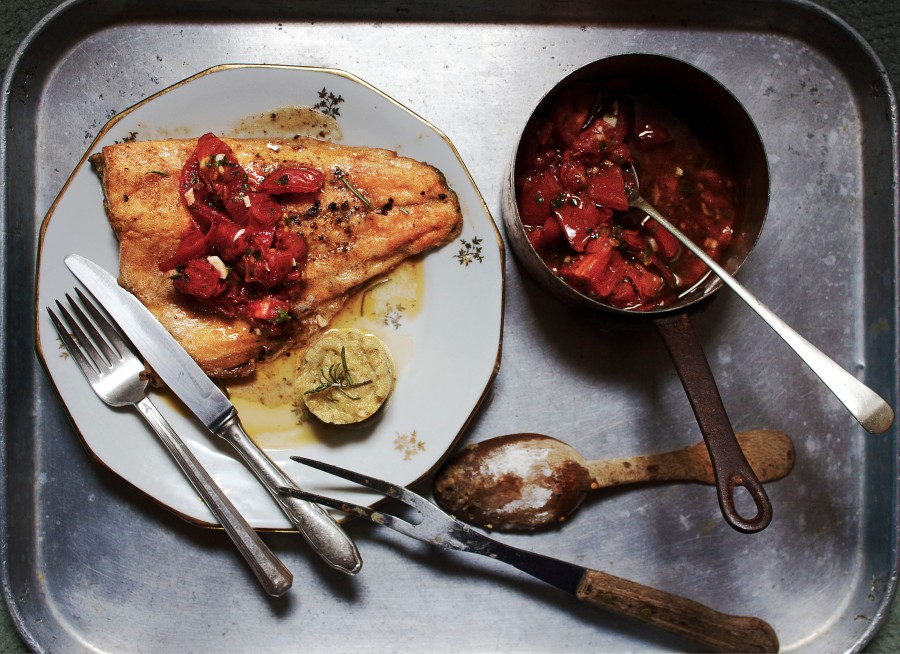 Pan-seared pink trout | Infinite belly