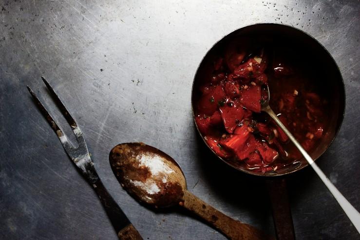 Provençal tomato sauce vierge | Infinite belly