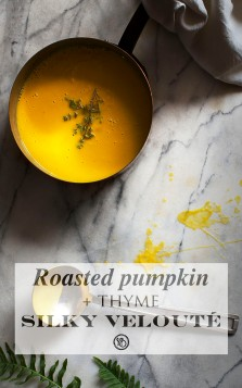 Pumpkin velouté | Infinite belly