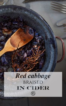 Red cabbage braised in cider | Infinite belly