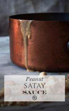 Satay sauce | Infinite belly
