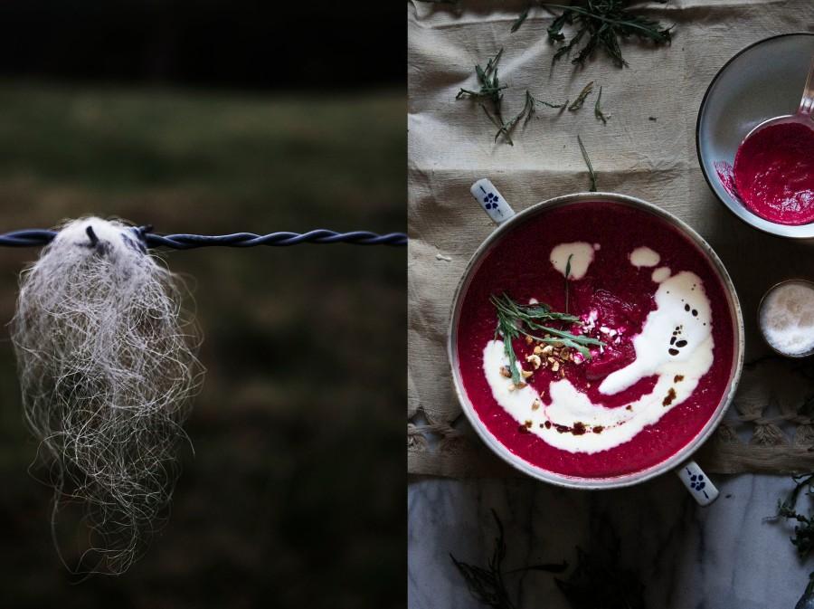 Beetroot soup & arugula | Infinite belly