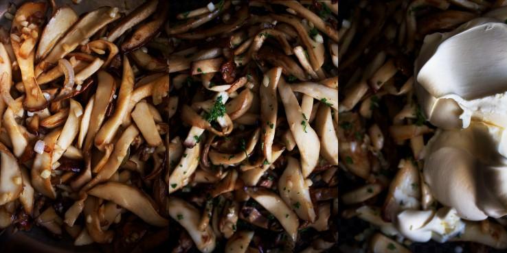 Porcini mushroom creamy linguini | Infinite belly
