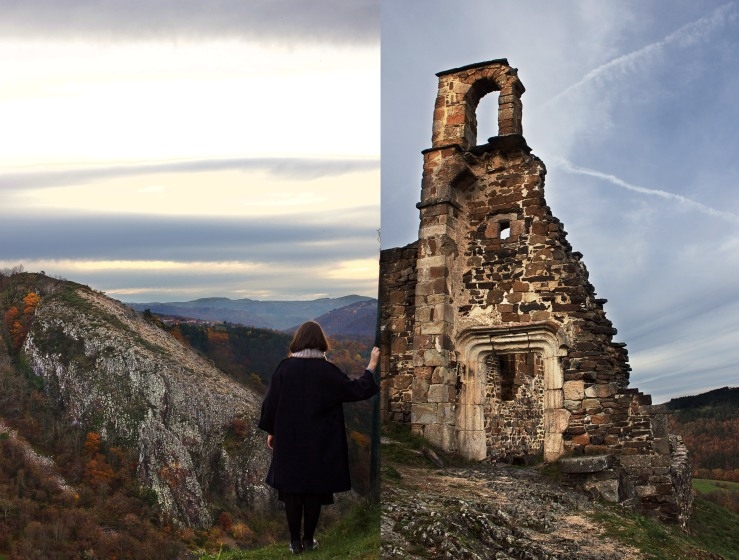 Artias castle ruins, Auvergne, France | Infinite belly