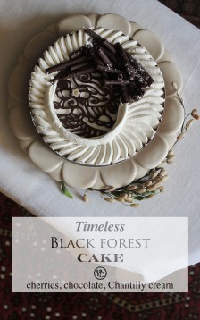 Black forest cake | Infinite belly