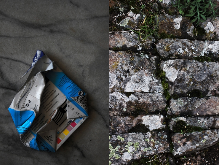 Coconut milk packaging & stone wall | Infinite belly