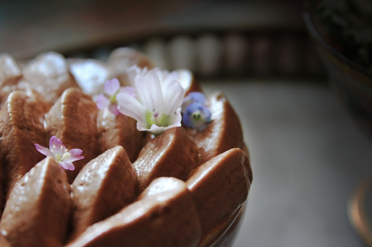 Ginger chocolate mousse 8 | Infinite belly
