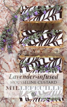 Lavender-infused millefeuilles | Infinite belly