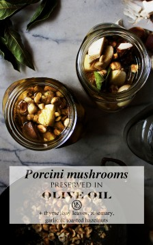 Porcini mushrooms preserved in olive oil | Infinite belly
