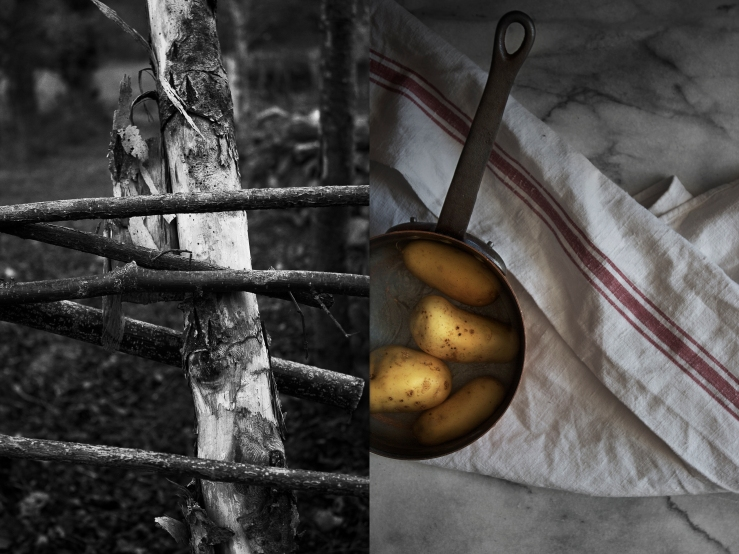 Potatoes in copper pot | Infinite belly