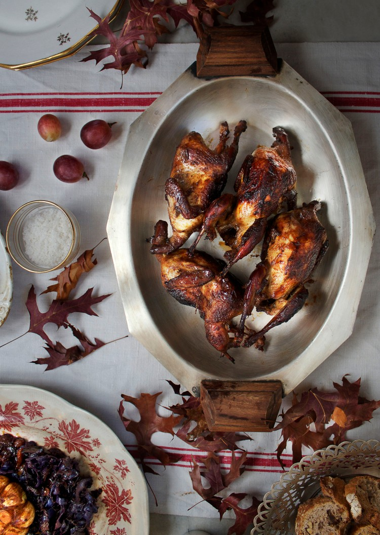 Zante currant roasted sweet quails | Infinite belly
