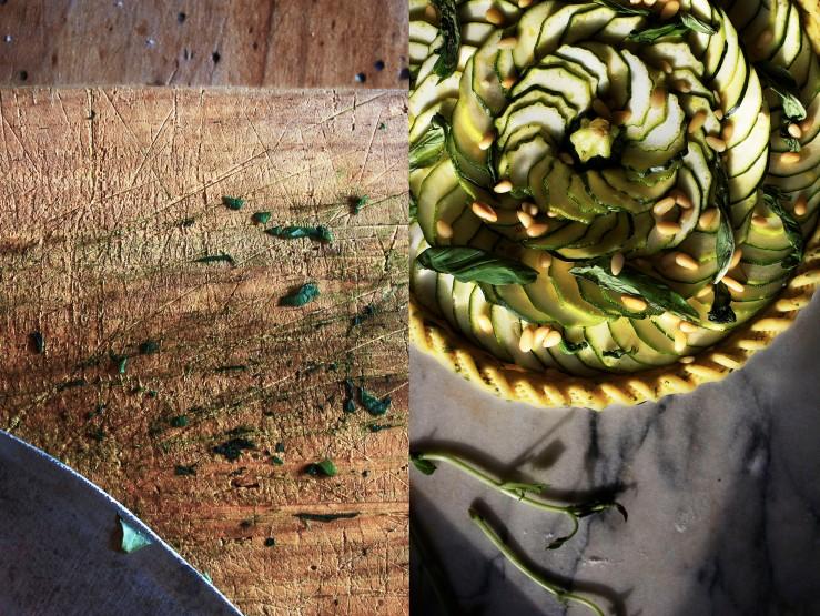Parmesan & basil zucchini garden pie | Infinite belly
