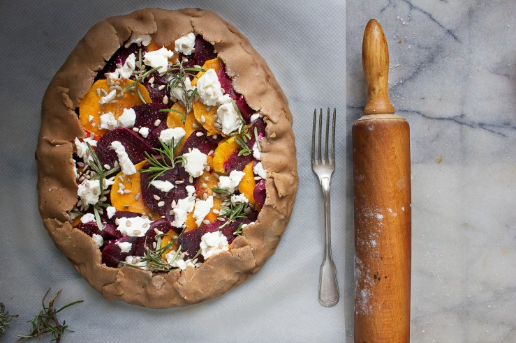 Beetroot & squash galette 3 | Infinite belly