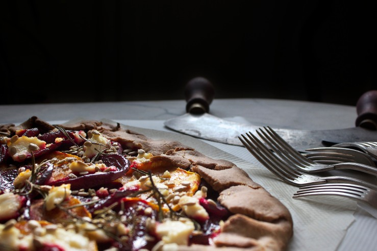 Beetroot & squash galette 5 | Infinite belly