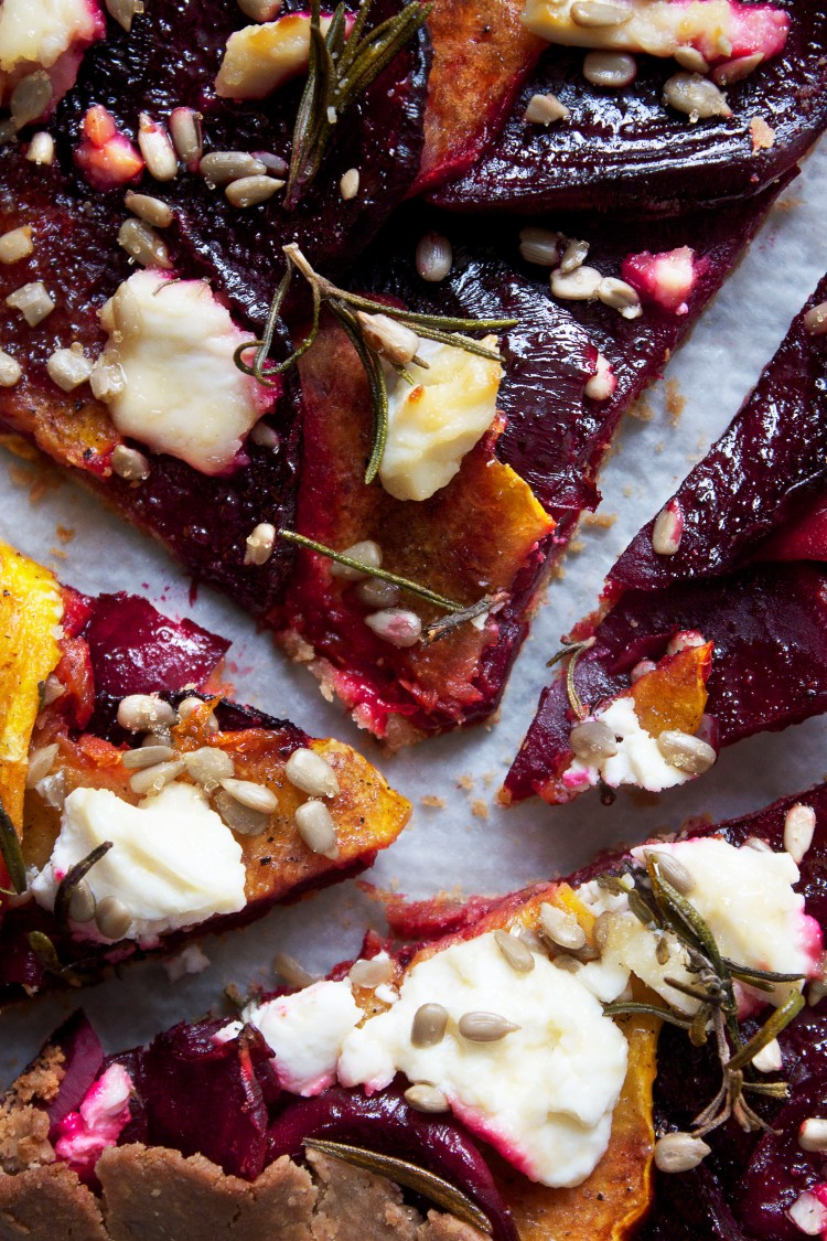Beetroot & squash galette 6 | Infinite belly