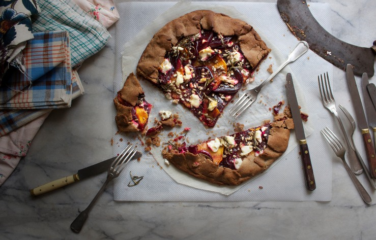 Beetroot & squash galette 8 | Infinite belly