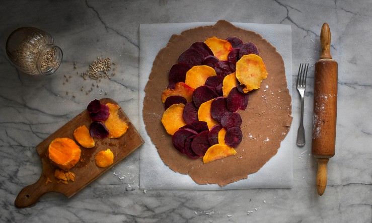 Beetroot & squash galette | Infinite belly