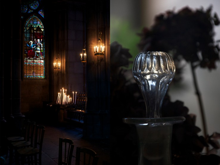 Clermont-Ferrand's cathedral & vintage carafe | Infinite belly