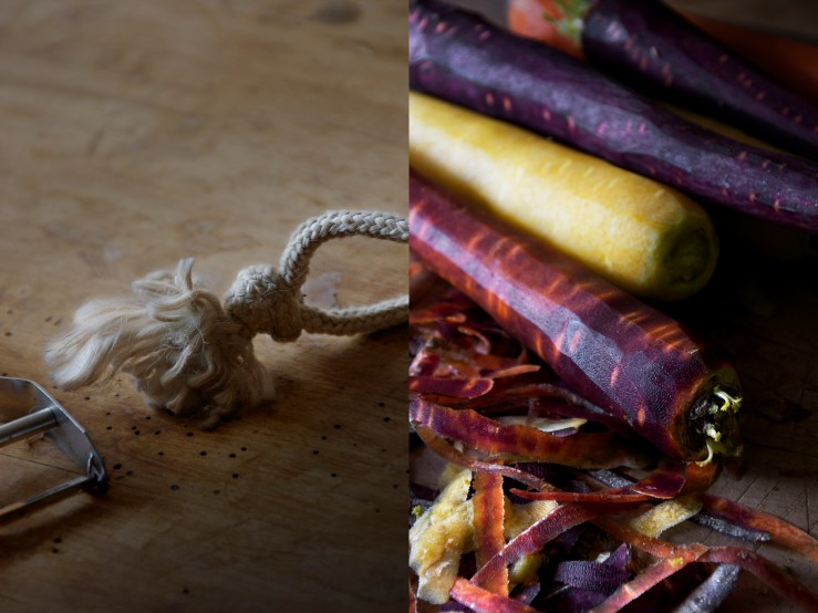 Knot & multicolor carrots | Infinite belly