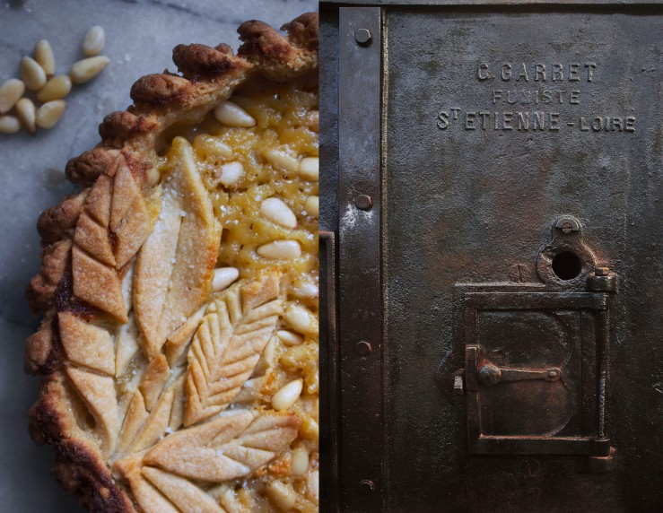 Pine nut & rum pie 4 | Infinite belly
