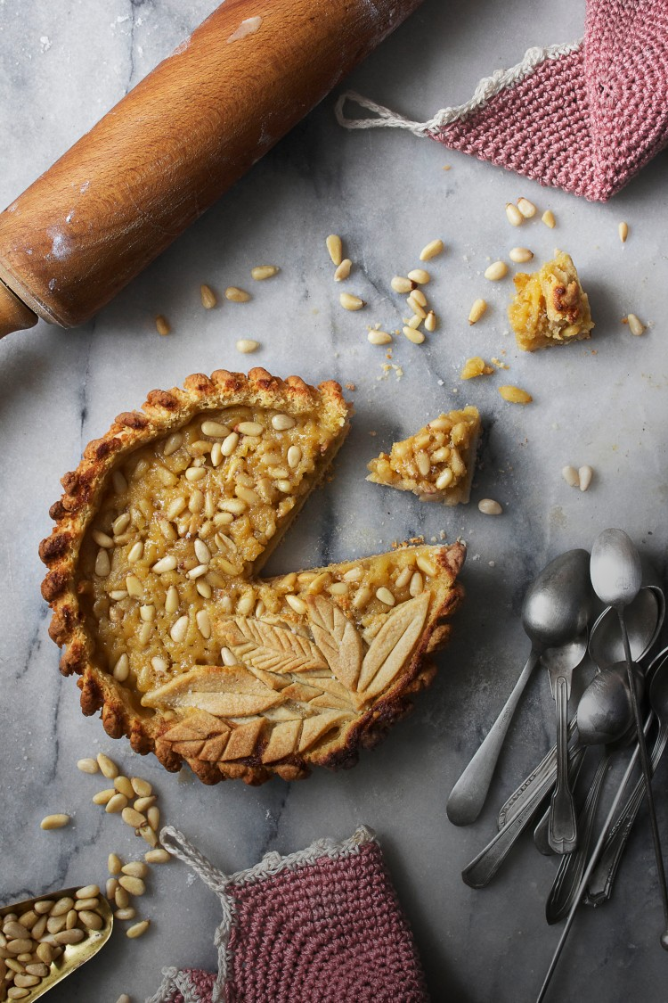 Pine nut & rum pie 9 | Infinite belly