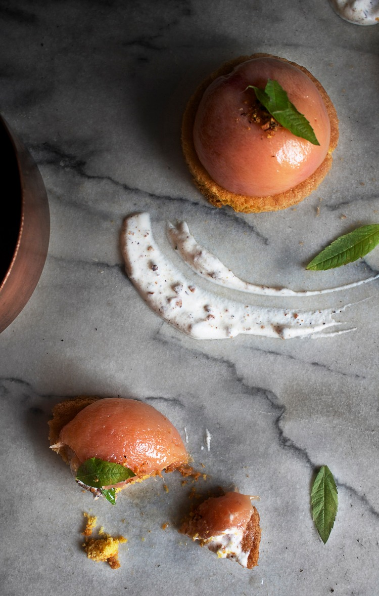 Poached peach & verbena tartlets 10 | Infinite belly