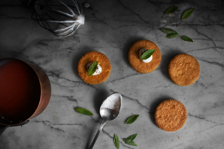 Poached peach & verbena tartlets | Infinite belly
