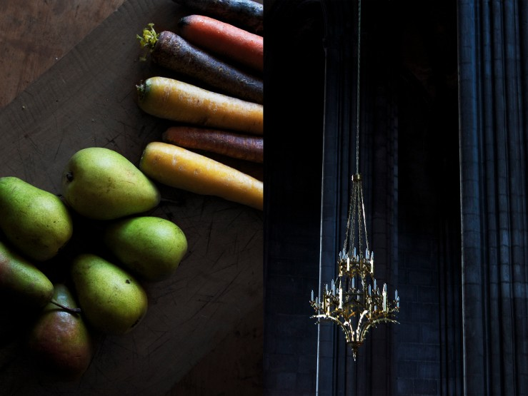 Raw carrots, pears & Clermont-Ferrand's cathedral | Infinite belly