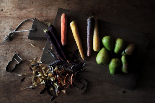 Raw carrots & pears | Infinite belly