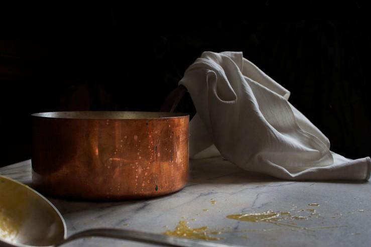 Vintage copper pot | Infinite belly