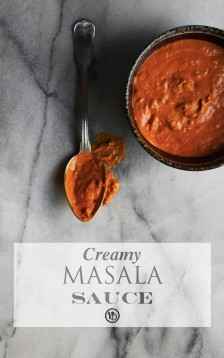 Creamy masala sauce | Infinite belly