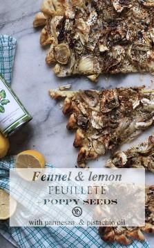 Fennel & lemon feuilleté | Infinite belly