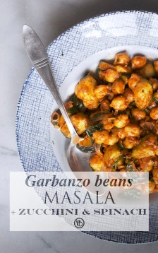 Masala garbanzo beans | Infinite belly