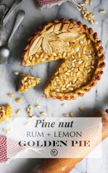 Pine nut pie | Infinite belly