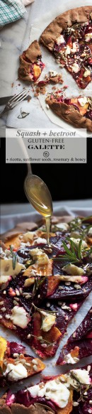 Squash & beetroot galette pinterest | Infinite belly