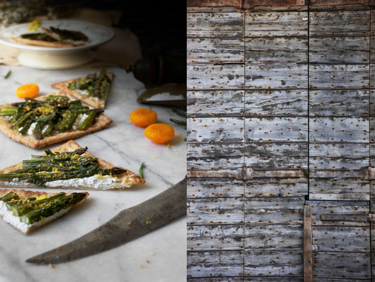 Honey roasted asparagus & goat cheese puff tarts 17 | Infinite belly