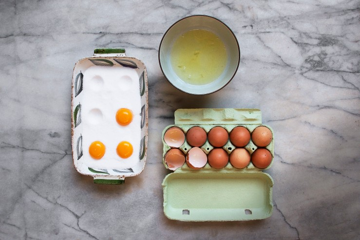 Salt cured egg yolks | Infinite belly